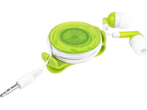 Strix earbuds in light-up case