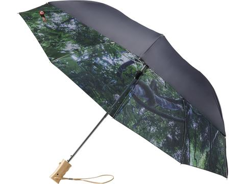 "Parapluie ouverture automatique 21"" 2 sections Forest skies"