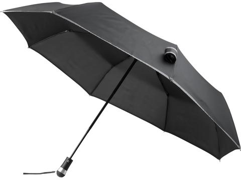 "Luminous 27"" LED fold. auto open & close umbrella"