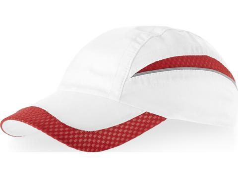 Slazenger 6 panel mesh edge cap