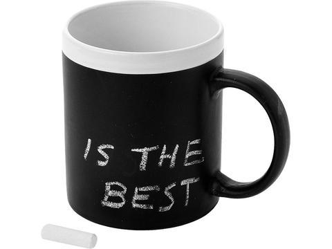 Koffiemok schrijfbord - 300 ml