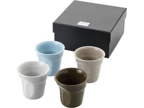 4 delige espresso set - 4 x 80 ml