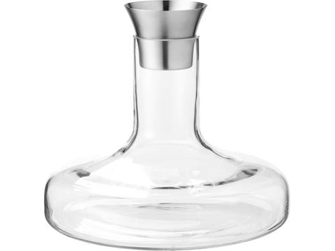Flow wine decanter set