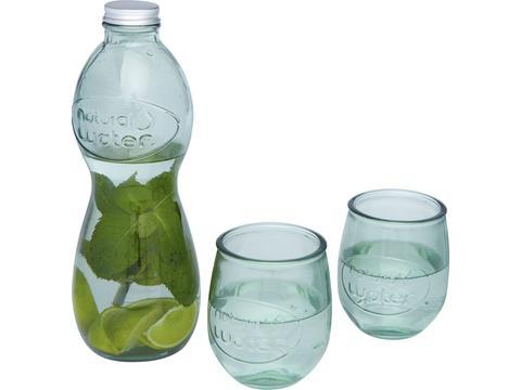 Ensemble Brisa de 3pièces en verre recyclé