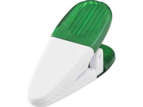 Magnetic memo holder clip