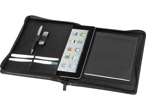 Leather portfolio for iPad