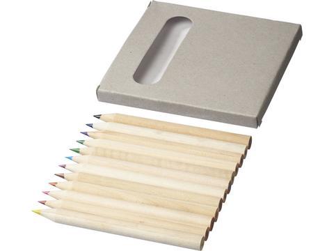 12-delige kleurpotloden set