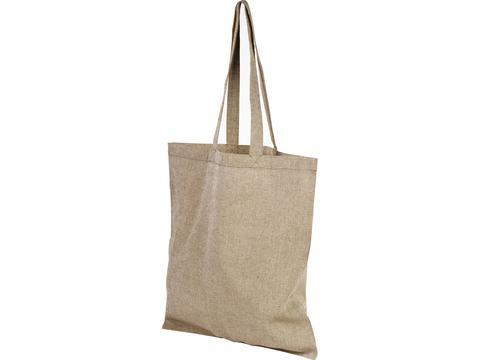 Sac shopping en coton recyclé Pheebs 180 g/m²