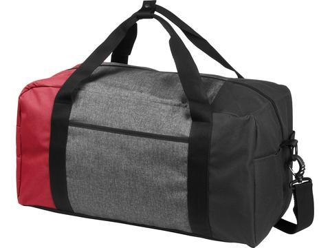 """Three-way colourblock 19"""" duffel bag"""