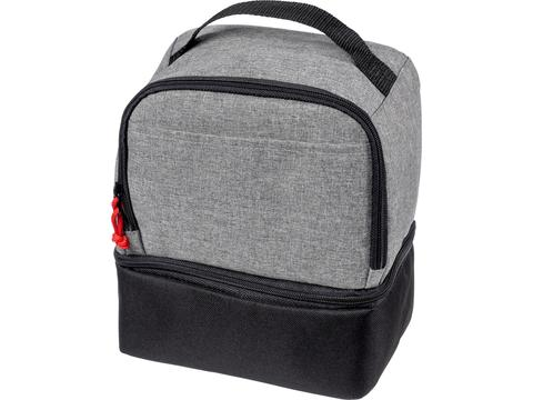 Sac-repas isotherme double cube
