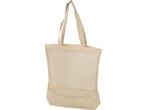 Maine mesh cotton tote bag