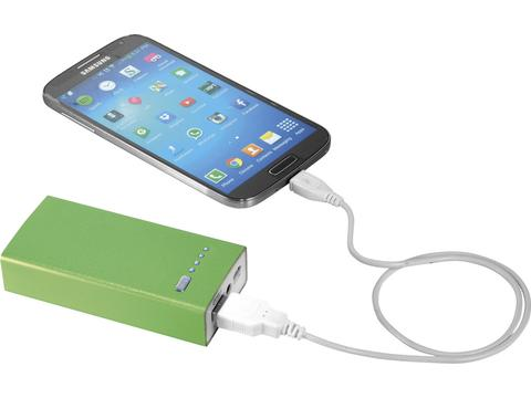 Powerbank met LED indicatie