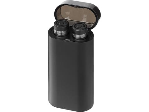 Glow TrueWireless earbuds with light-up power bank