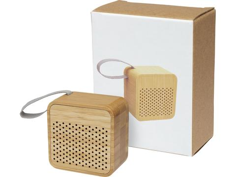 Arcana bamboo Bluetooth® speaker