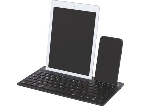 Hybrid toetsenbord voor meerdere apparaten met standaard