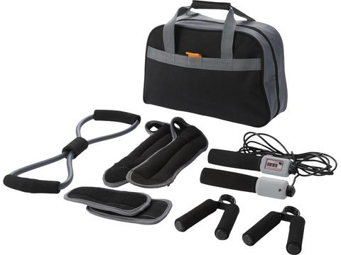 Stay Fit 9 Pcs Personal Fitness Kit