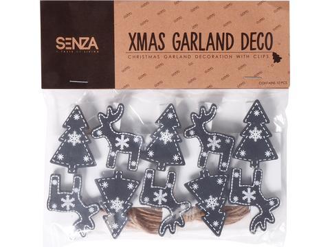 Senza Garland knijpertjes voor kerstkaartjes