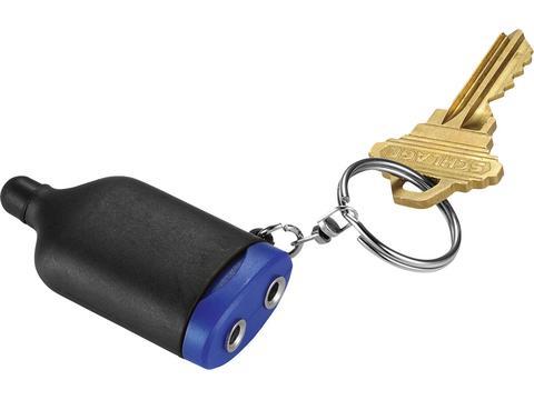 2-In-1 Music splitter keychain with stylus