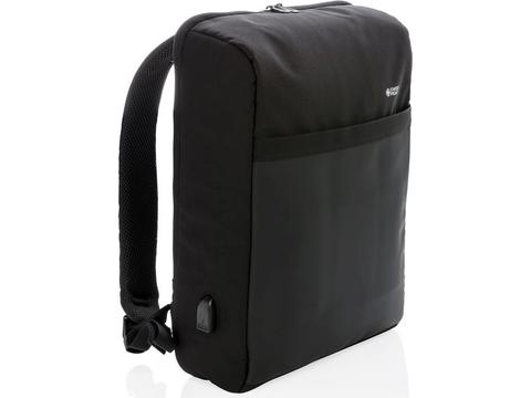 "Swiss Peak 15"" anti-theft RFID & USB backpack PVC free"