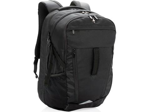 Swiss Peak 15 inch outdoor laptop backpack with rain cover
