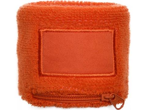 Wristband with zipper