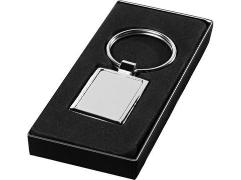 Vierkante sleutelhanger
