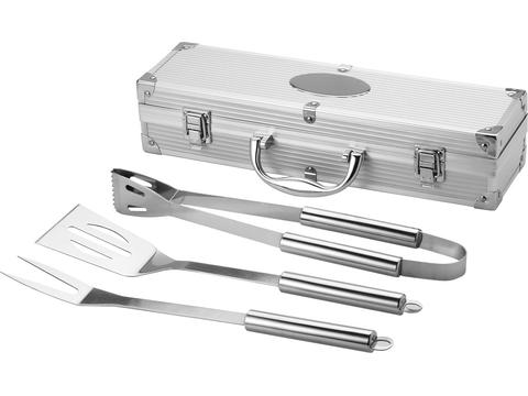 Barbeque Set in metal case