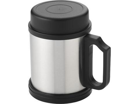 Isolating Coffee Steel Mug