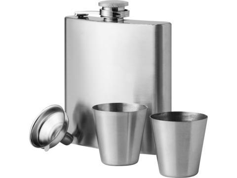 Coffret flasque