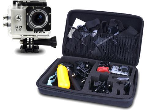 Prixton Actiecamera DV609 met accessoires