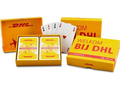 2 kaartspellen in luxe doosje