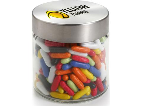 Glass jar 0,35 liter