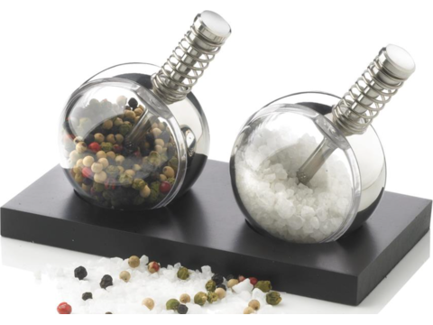 Stijlvolle peper & zout set