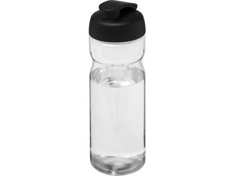Bouteille de sport H2O Base® 650 ml avec couvercle à clapet