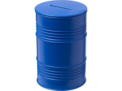 Banc oil drum money pot