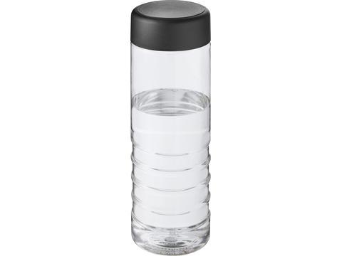 H2O Treble 750 ml screw cap water bottle