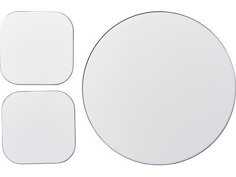 Ensemble de tapis de souris et de dessous de verre Brite-Mat® 6