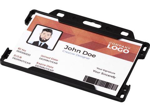 Porte-cartes Vega en plastique