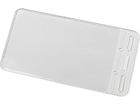 Badge houder - portait