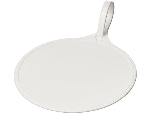 Rami round luggage tag