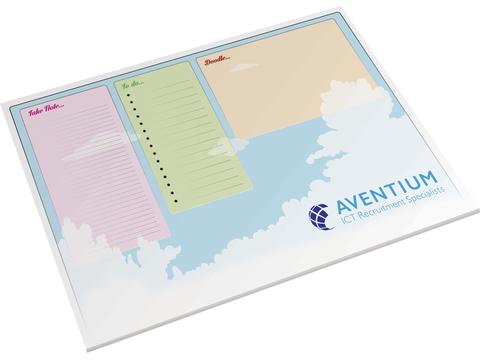 Desk-Mate® A2 notepad 25 sheets