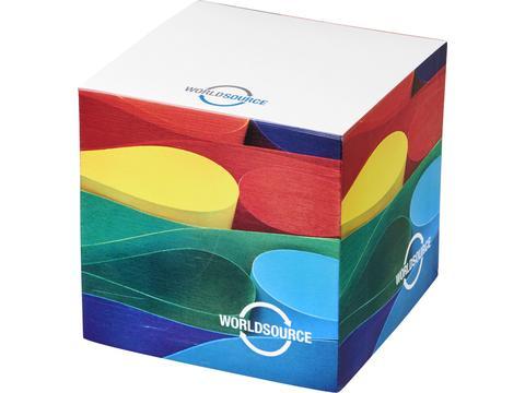 Cube memoblok 7,5 x 7,5 cm - 750 vellen