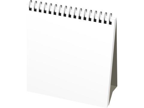 Calendrier Classic mensuel de bureauavec couverture souple