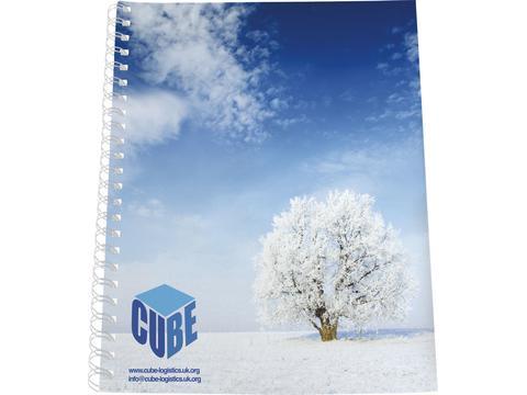 Desk-Mate A4 notitieboek met synthetische omslag