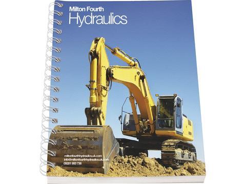 Desk-Mate® A6 notitieboek met synthetische omslag