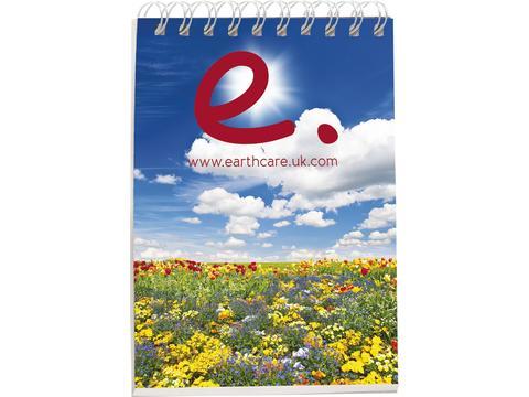 Desk-Mate® A7 notitieboek met synthetische omslag