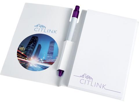 Ensemble conférencier Essential avec calepin A6 et stylo