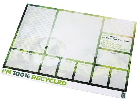 Desk-Mate® gerecycled A2 kladblok