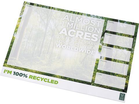 Bloc-notes A3 recyclé Desk-Mate®