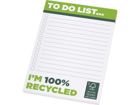 Bloc-notes A6 recyclé Desk-Mate®